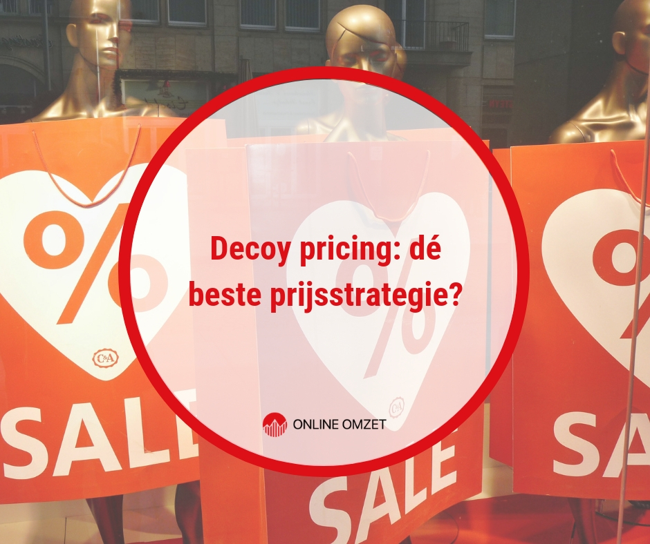 Decoy pricing als prijsstrategie